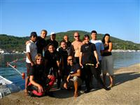 Croatia Diving: Staff evening